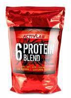 ActivLab Protein Blend bardzo dobre składniki, aż 6 różnych źródeł białek.