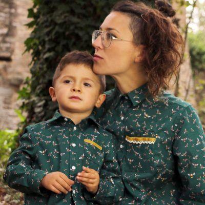 Vestidos iguales madre e hija combinados en nuestra tienda online donde podras encontrar ropa para niño, niña y mamá. Todo hecho a mano y con amor.