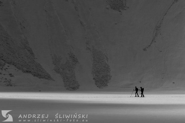 Alpine touring in the Tatra Mountains, Poland. #mountainphotography