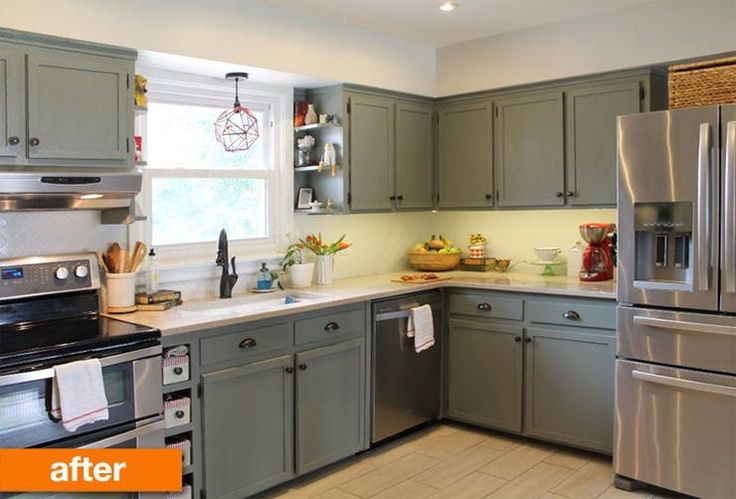 Before & After: A 1950s Kitchen Gets a Modern DIY Makeover | Apartment Therapy