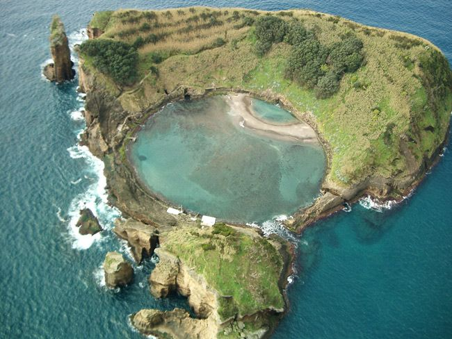 Ilhéu de Vila Franca, Açores