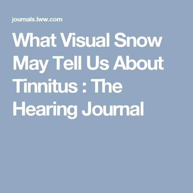 Visual Snow Natural Remedies