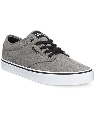 Vans Men's Atwood Heathered Sneakers - All Men's Shoes - Men - Macy's