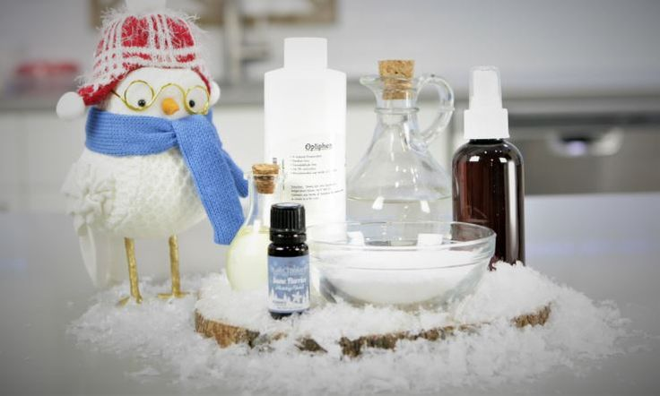 Holiday DIY: Snow Flurries Clothes Wrinkle Remover