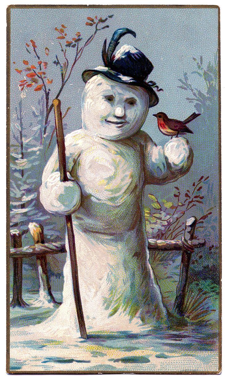 SnowmanHatVintage-GraphicsFairy1.jpg (901×1500)