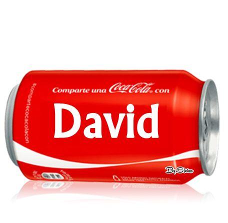 """Nombres """" Eloisa """": Coca cola con """" D """""""