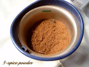 homemade ng heong fun ~ 5 spice powder