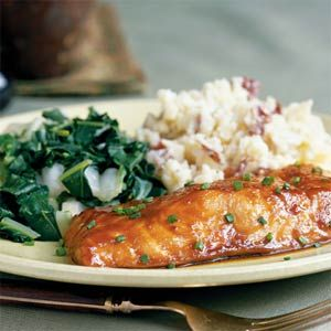 Miso-Glazed Salmon from Cooking LightGlaze Salmon, Salmon Dishes, Cooking Sprays, Honey Glaze, Cooking Lights, Misoglaz Salmon, Salmon Recipe, Dinner Tonight, Fish Recipe