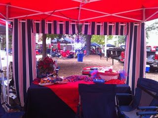 The Grove Gal: Ole Miss Tailgating 101: The Tent