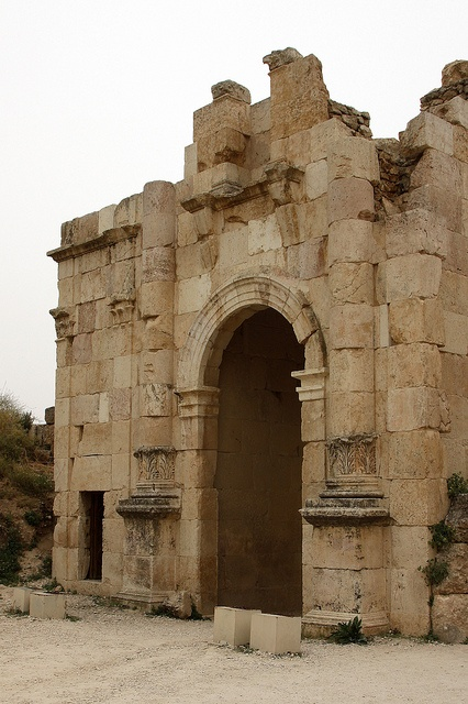 Jordan - Jerash, located 48 km north of Amman and nestled in a quiet valley among the mountains of Gilead.