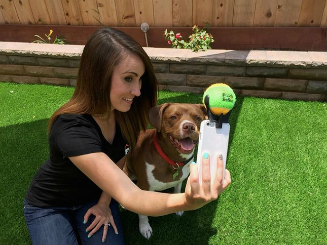 Nail those selfies with your pup using this crazy gadget.
