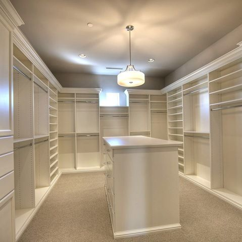 The perfect size dream closet. 14'x19'.