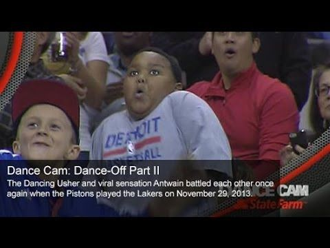 Dance Cam: Dance-Off, Part 2 | December 6, 2013 | NBA 2013-14 Season - YouTube