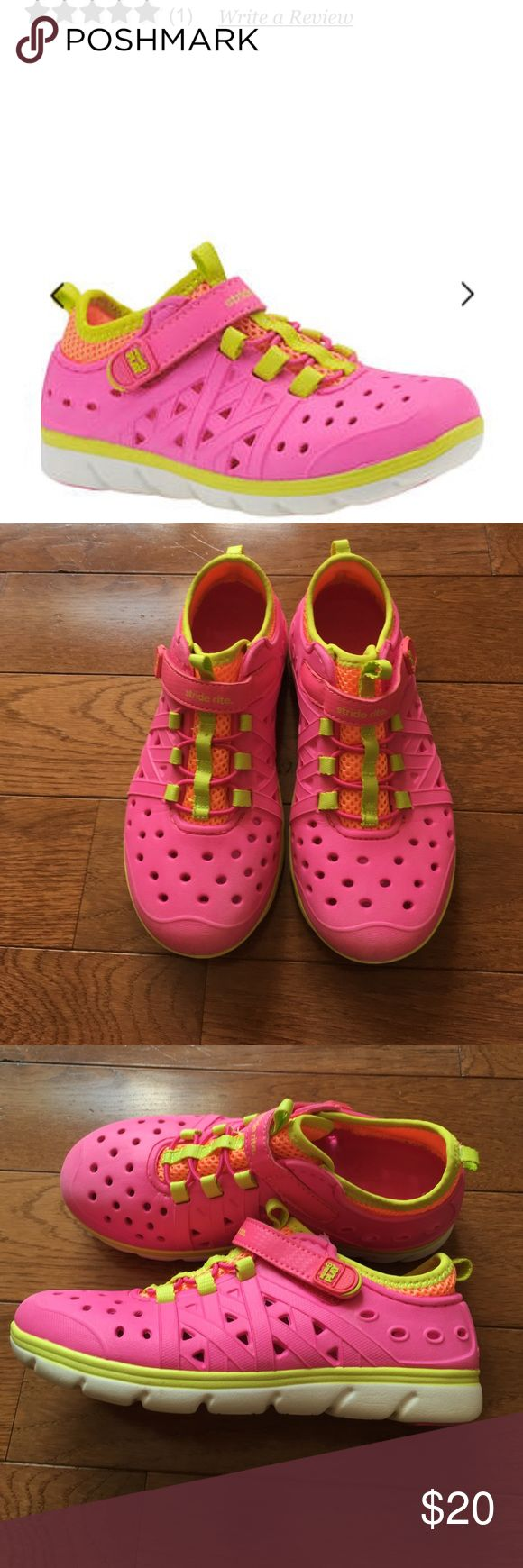 💗Stride Rite Phibian Shoes💗 Girls Stride Rite Phibian Shoes-Excellent Condition!! Worn 3x's- can go from land to water. See specs in pic. Bundle & save!! Stride Rite Shoes