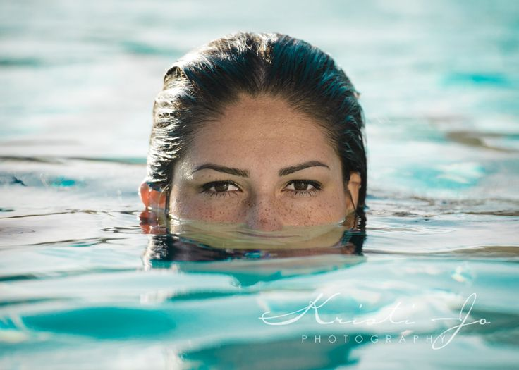 High School Senior Swimmer Water Polo Player and all around athlete.  Jacque's mom made the comment that she was always in the water, and I knew then that I couldn't do her senior photos without a water photo.  #senior #classof2015 #girlposes #poolposes #pool #water #eyes #menifeephotographer #seniorphotographer #temecula #murrieta #oceanside #southerncalifornia #riverside