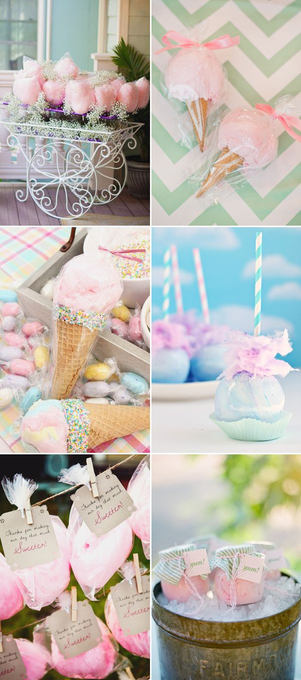22 Fun and Creative Ways to Plan a Cotton Candy Wedding!