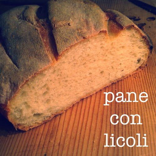 Pane facile con pasta madre liquida (licoli) con procedimento, dosi e tempi PER PRINCIPIANTI