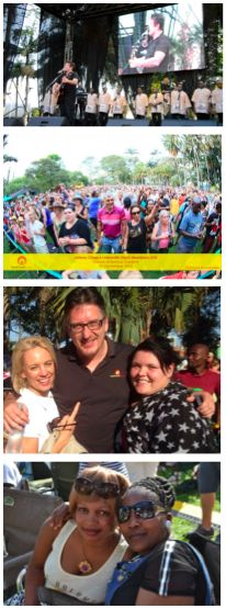 The Milestone Kitchens Staff had a rocker of a party on Sunday at the Durban Botanic Gardens with Darren Maule, Lady Smith Black Mambazo and Johnny Clegg. On Monday  every single person pitched up for work. What fabulous staff we have at MK.
