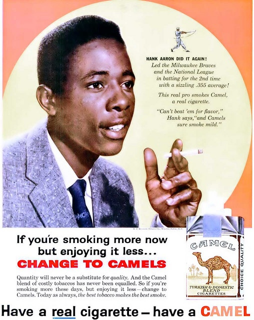 Sports celebrity endorsements advertisements for cigarettes