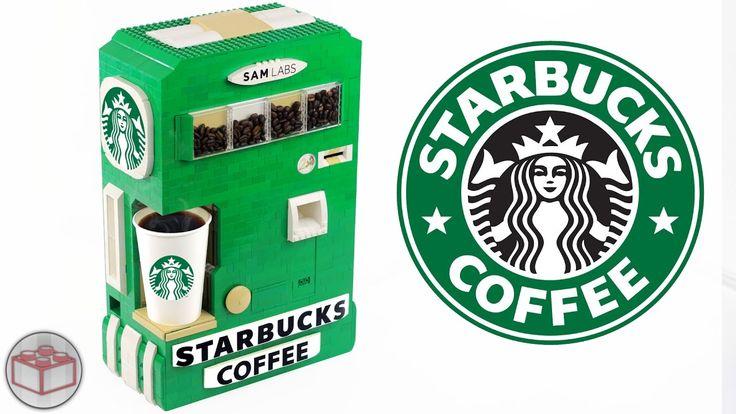 Lego Starbucks Coffee Machine