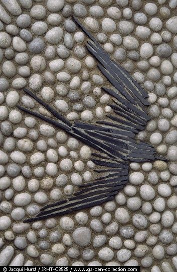 Pebble Mosaic - Bird