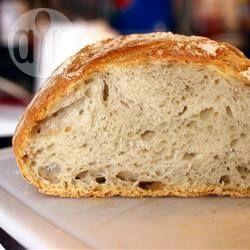 Knapperig brood zonder kneden @ allrecipes.nl