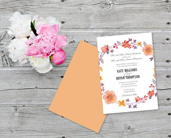 68 best wedding invitations images on pinterest invitations