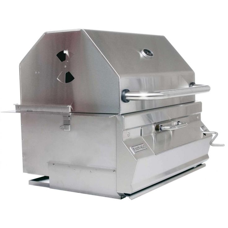 Amazon.com: Charcoal Legacy Built In Grill (Grill w 30 in. Smoker Hood): Patio…