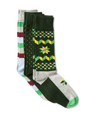 34% OFF Happy Socks Men's Multi Socks (3 Pairs)