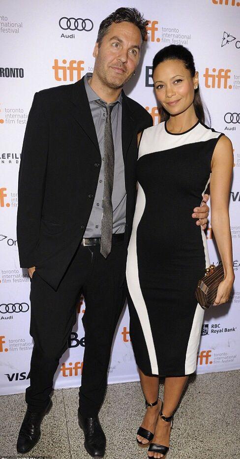 Thandie Newton & hubby