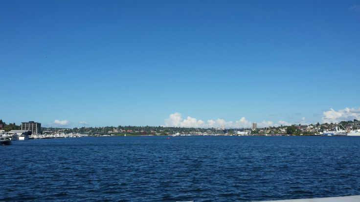 South Lake Union Seattle.  20 september 2016