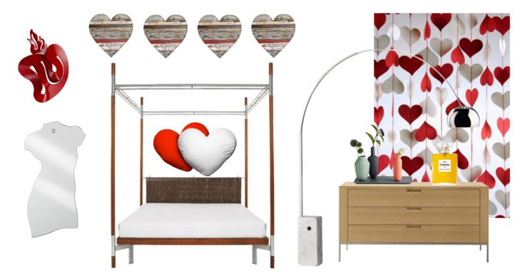 Take a look at the moodboard I created on Designbest. | All you need is... design! #sanvalentino #valentinesday