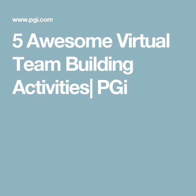 Best team building activities for remote teams pinterest for Interactive house builder