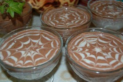 Желе сметанное «Зебра» : Десерты