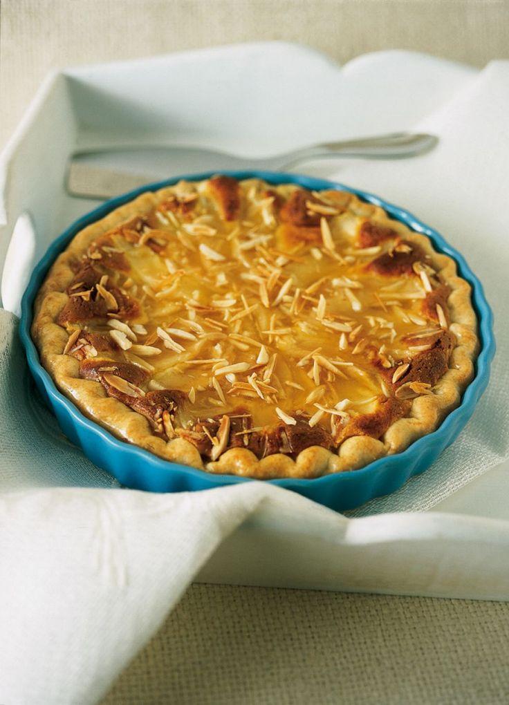 torta di pere e crema di mandorle