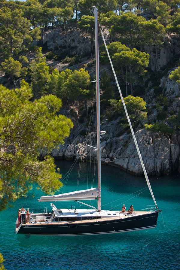 Is this the perfect 50 foot sailboat? Details at Beneteau...