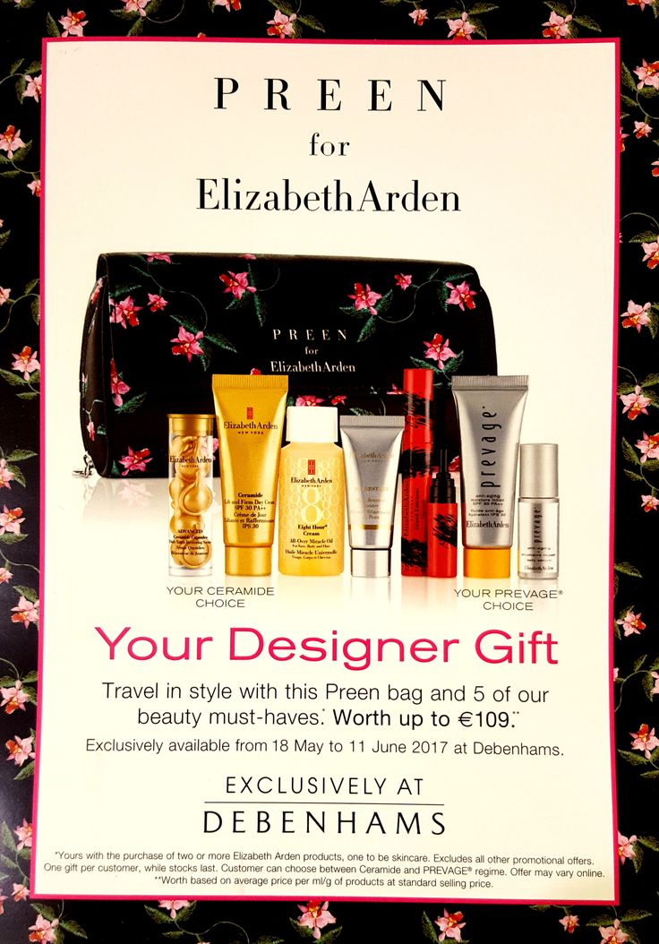 Amazng offer from @elizabetharden @debenhamsire