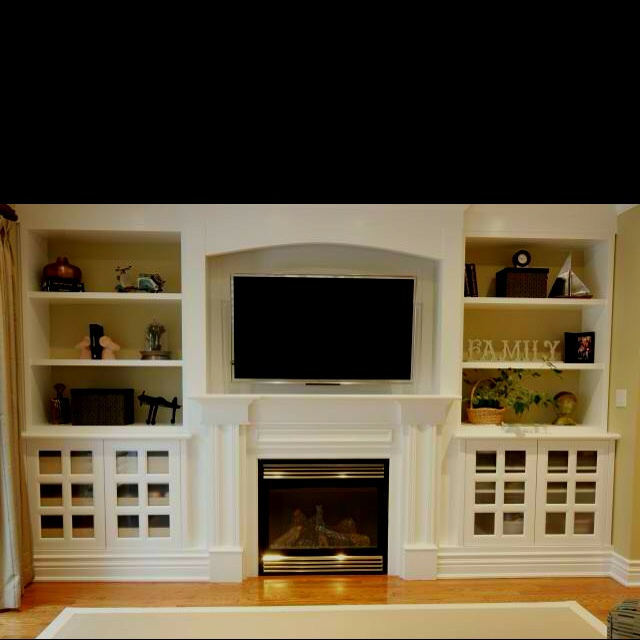 Fireplace with built ins from Houzz.com