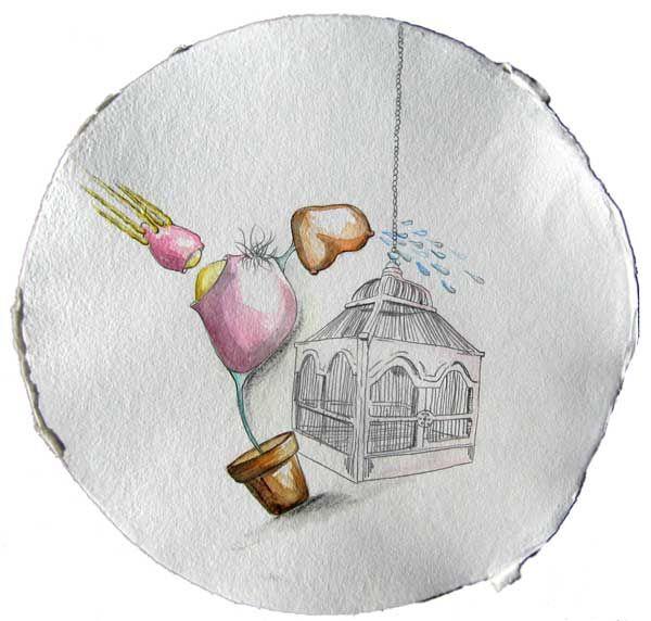Federico Lombardo,Savina Lombardo,Arianna Piazza,Zhao Haoyi|Acquerelli|Water color|Piziarte Arte Contemporanea|Sweet Home 25
