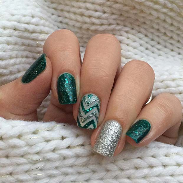 71 Christmas Nail Art Designs Ideas For 2019 Page 6 Of 7 Stayglam Festive Nail Art Festival Nails Christmas Nail Art Designs
