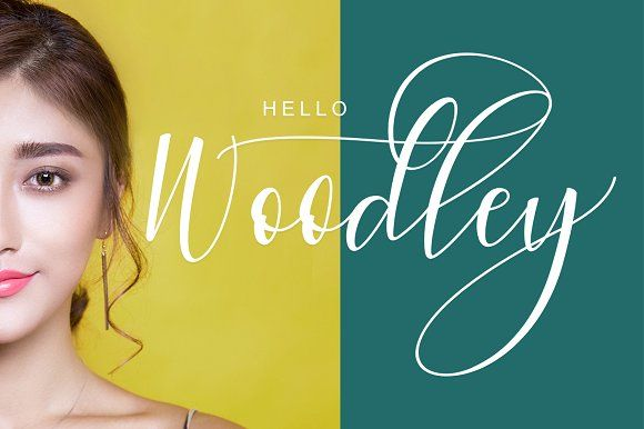 Woodley by pholetter on @creativemarket