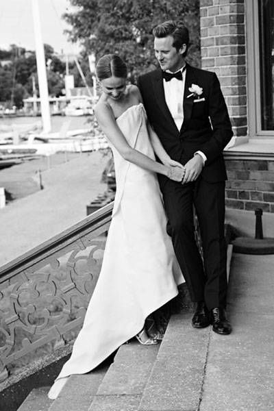Style maven and founder of 'Style By' magazine Elin Kling had an intimate Stockholm wedding that will have you swooning. See the exclusive photos now!