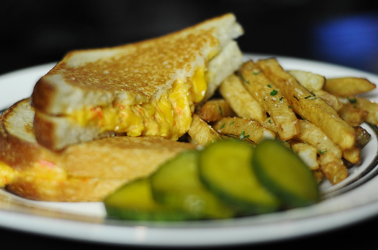 Pimento cheese sandwich at Capital Bar and Grill