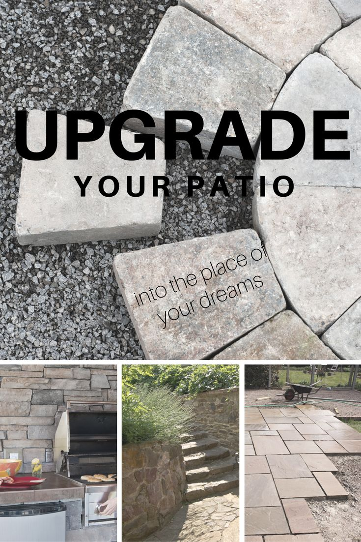 Thinking about upgrading your patio? At Bosch's Landscaping, we provide options that will meet your both your cost and style preferences. http://boschslandscape.com/how-can-i-fix-my-ugly-cement-patio/