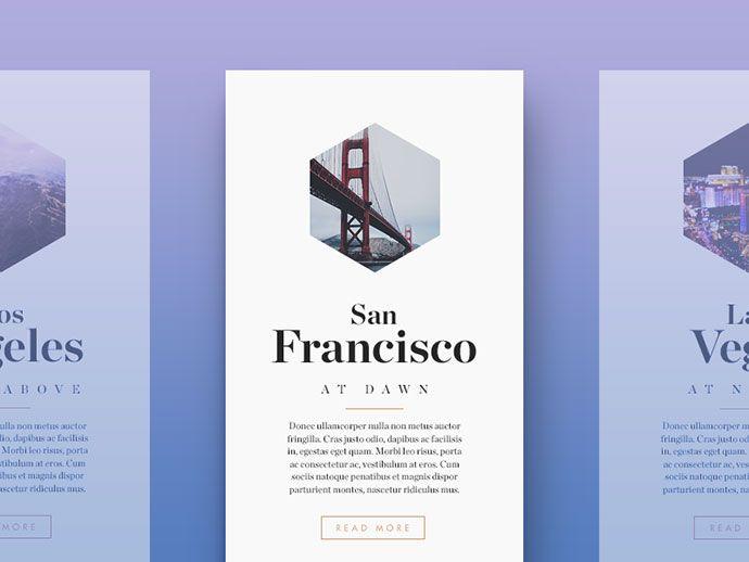 30 Brilliant Examples Of UI Cards