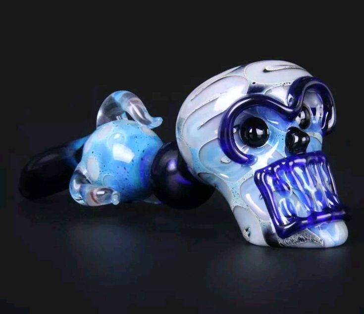 Your Choice of 2 Designs / Hand Blown / Heady Colored / Skull Face / Glass Pipe / Hand Pipe / Glass Smoking Bowl by PremiumPipesCo on Etsy https://www.etsy.com/listing/553093268/your-choice-of-2-designs-hand-blown