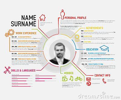 Online Cv Template Pinterestu0027te Profesyonel Özgeçmiş Şablonu - resume site template