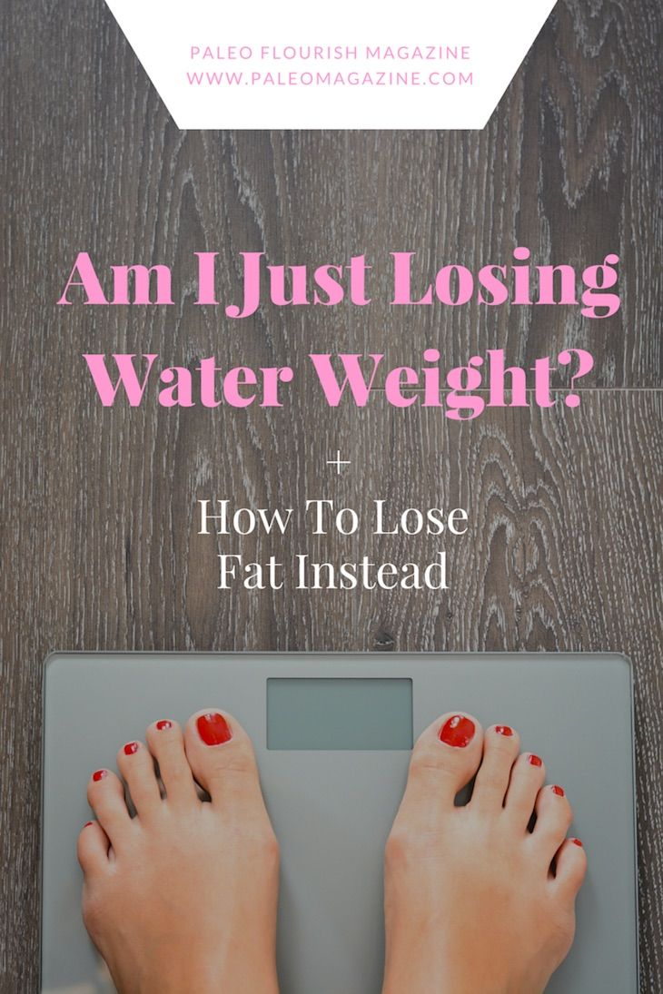 Am I Just Losing Water Weight? [+ How To Lose Fat Instead]http://paleomagazine.com/am-i-just-losing-water-weightArticle from Paleo Flourish Magazine #paleo #magazine #health #nutrition #diet