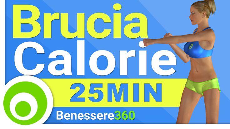 Bruciare Calorie in Casa - Allenamento di 25 Minuti per Dimagrire Veloce...