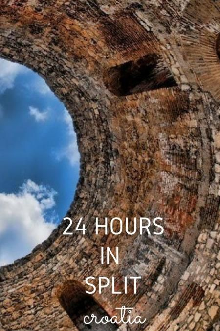 Croatia Travel Blog: Do you only have 24 hours to explore Split, Croatia on your travels through the country? Enjoy your day with these great ideas on what to see and do with only 24 hours in the port city of Split. Click to learn more!